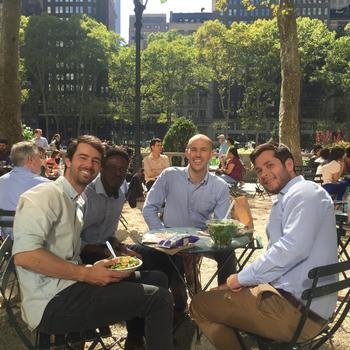 Enveritas - Lunch in Bryant Park