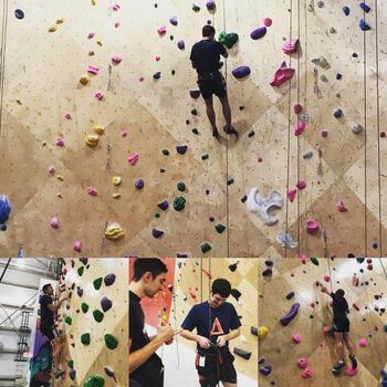 Optiver US LLC - Our rock climbing club meets weekly, rain or shine.