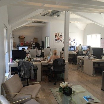 Glossier, Inc. - We have a beautiful, lofty space that helps us be all creative and stuff