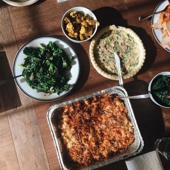 Fatherly - One of our lunch spreads