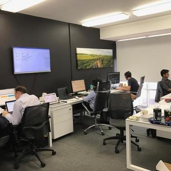 PerformanceCentre - The development team area: nice and quite. The office is in a central South Melbourne office close to lunch spots and cafés