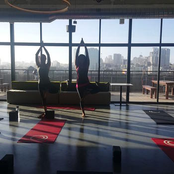 Collective Health - Weekly Yoga Classes in our beautiful space in SF!
