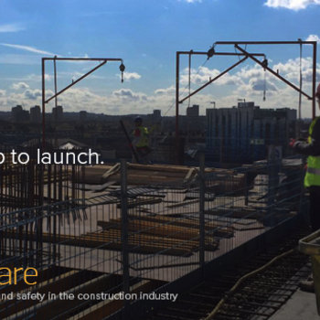fuseAware - The team onsite at one of our clients. Building innovation and saving lives.