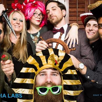 Y Media Labs LLC - Photobooth fun at our company party!
