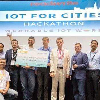 Ciklum Inc. - Ciklum team wins Grand Prize at IoT for Cities Hackathon