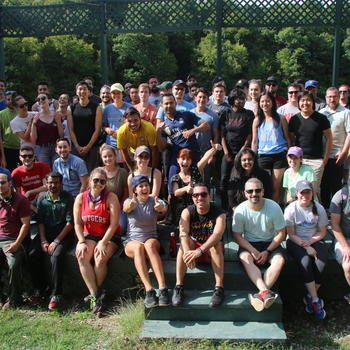 SiteCompli - The SiteCompli team at our annual Camp Day!