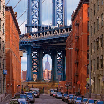 Quip Nyc Inc. - light/window filled office overlooking the Manhattan Bridge!