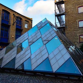 Kalgera - Pyramid building meeting space