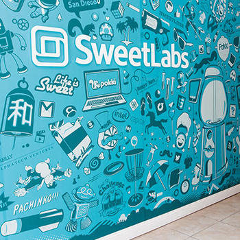 SweetLabs - Welcome Mural