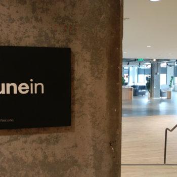 TuneIn - Front door!