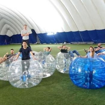 Joist - Monthly event...this month...Bubble Soccer!
