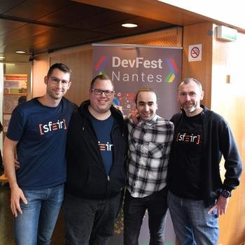SFEIR  - Présents en tant que speakers au DevFest Nantes