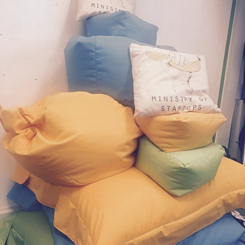 Third Space Learning - Climb the beanbag mountain...