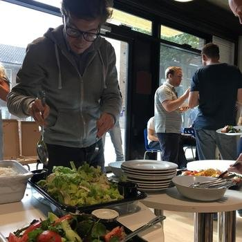 Masabi - Occasional lunches in the office