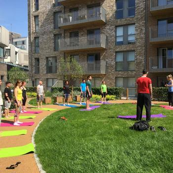Masabi - Staying balanced with pilates in the garden