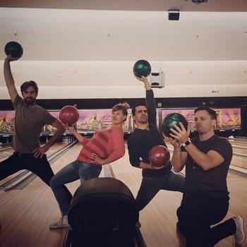Innit - User Experience Team Killing It At Our Innit Bowling Social Event!