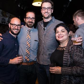 Distiller - The Distiller team at SXSW throwing a whiskey tasting event.