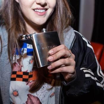 Distiller - Yes, we made flasks