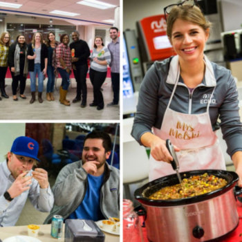 Echo Global Logistics, Inc. - The Echo Chicago chili cook-off, which benefited charities supported by Echo group Women in Logistics, was a huge success!