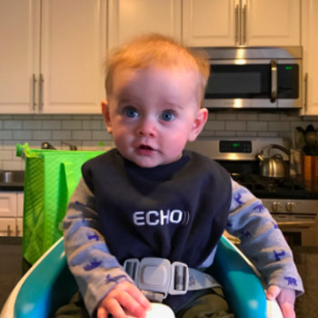 Echo Global Logistics, Inc. - You're never too young to rep your Echo gear!