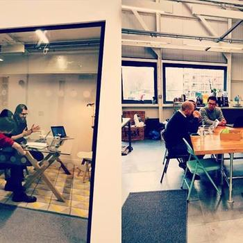 ENTREPRENEUR FIRST L.P. - Cohort members checking in with team at our Bermondsey office