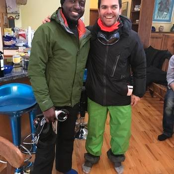 RubiconMD - Founders gearing up for a day on the slopes