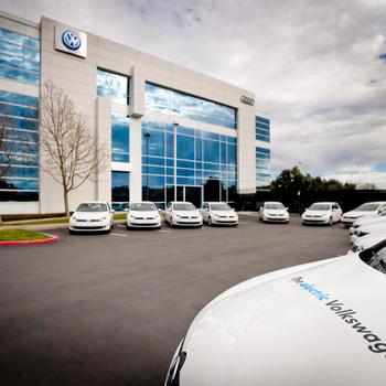 Volkswagen - Fleet of Electric Cars