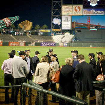 Volkswagen - Holiday Party @ AT&T Park