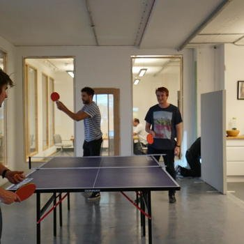 Yoobic - ping pong tournament
