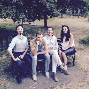 Behavox - Team debrief in the park