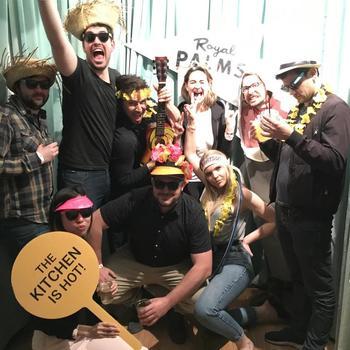 LiveLike - Royal Palms team nights are always fun.