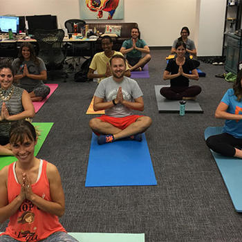 4c Insights Inc. - Yoga in the office