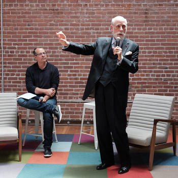 PlanGrid, Inc - The time Vint Cerf came by to hang out.