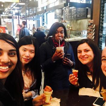 Insticator - Happy Friday!!  We like getting ice cream together too!