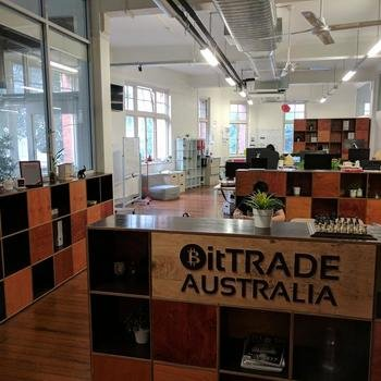 Bit Trade Australia - We work in a bright, converted warehouse space in the heart of Sydney's CBD