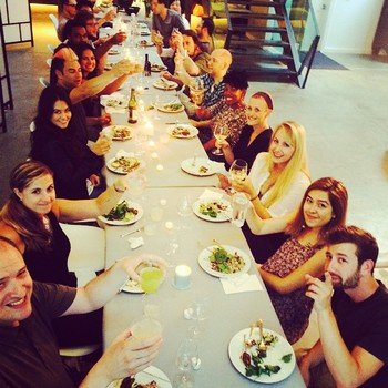 StyleSeat - Monthly Team Dinner and Company Awards Night!  (Aug 2014)