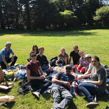 Giving Assistant - Company Fun Day @ Golden Gate Park
