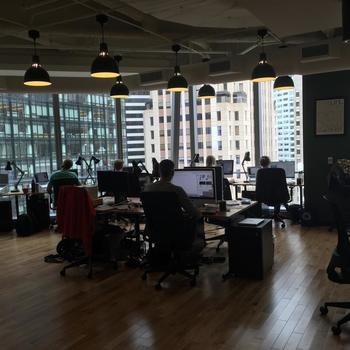 Giving Assistant - Our bright and beautiful corner office in WeWork Transbay