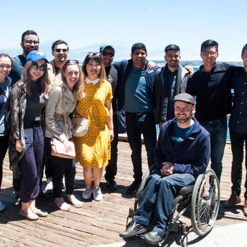 FormSwift - Our team exploring Monterey during last year's company trip!