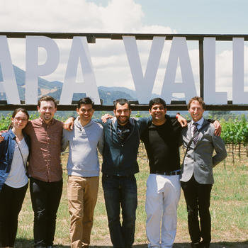 FormSwift - 2015 - The team in Napa