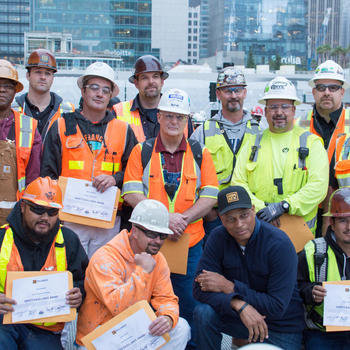 Rhumbix - Company Event at Transbay Terminal SF