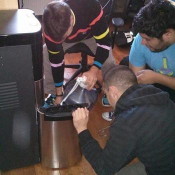 The Pixel Shop - How many engineers does it take to figure out what's wrong with the water cooler?