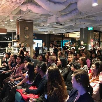 Odecee - Hosting Code Like A Girl Meetup
