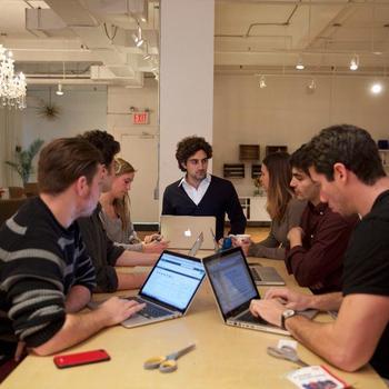 IVY - Media team meeting in NYC