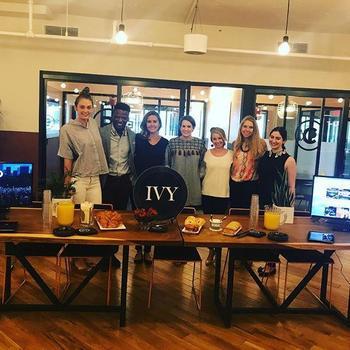IVY - IVY DC hosting an IVY member brunch