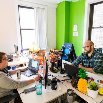 Ellevation - DevPro Team collaborating