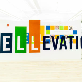 Ellevation - Our bright and welcoming entrance!