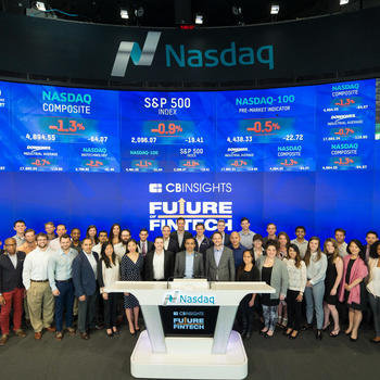 CB Insights - On June 10th 2016, CB Insights rang the opening bell of the NASDAQ for the Future of Fintech Conference.
