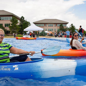Homeadvisor - Each summer, we celebrate our employee successes with a giant party called SummerFest.