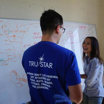 TruSTAR Technology, Inc. - War Room brainstorm.